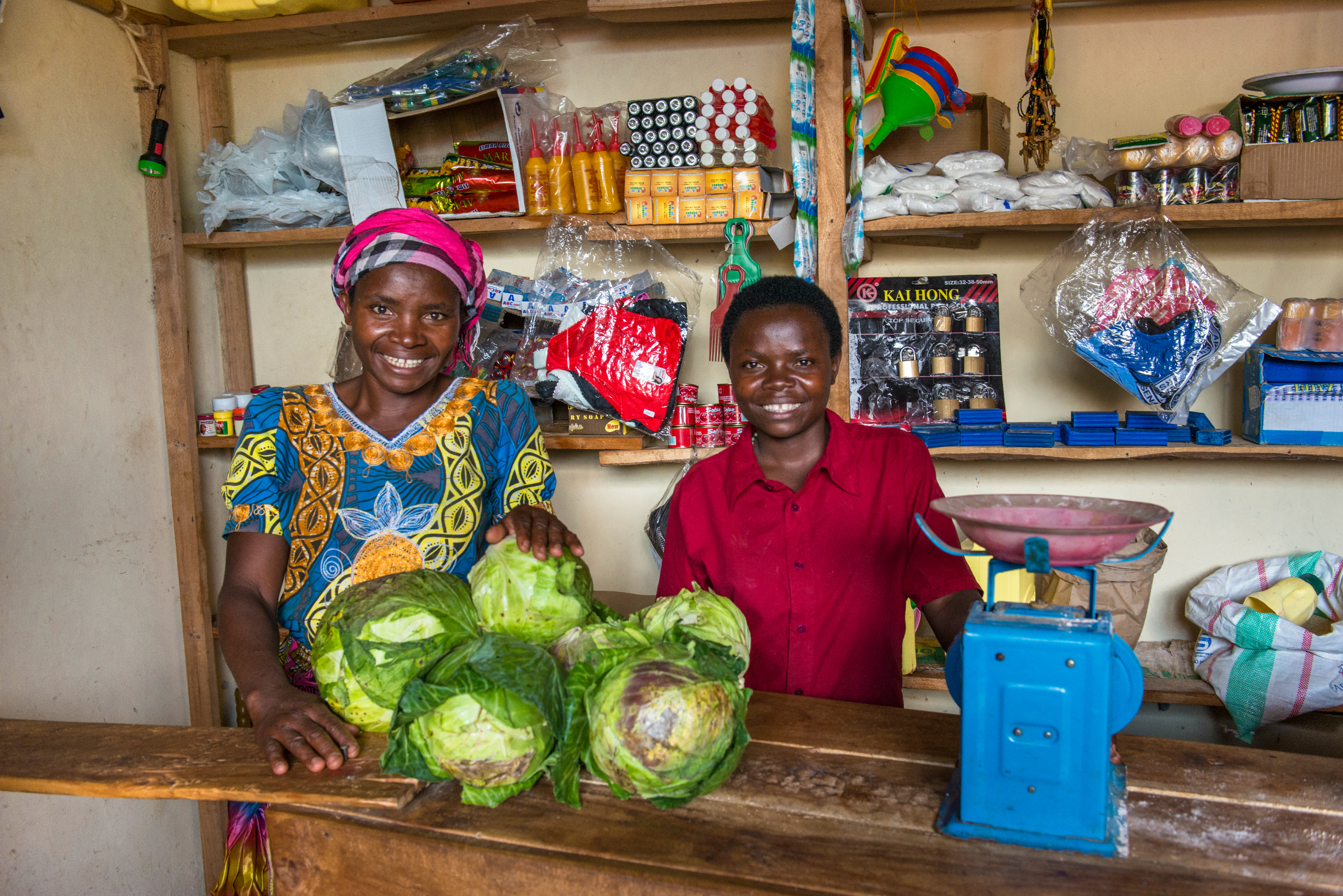 Program graduate puts her business skills to work at a local market