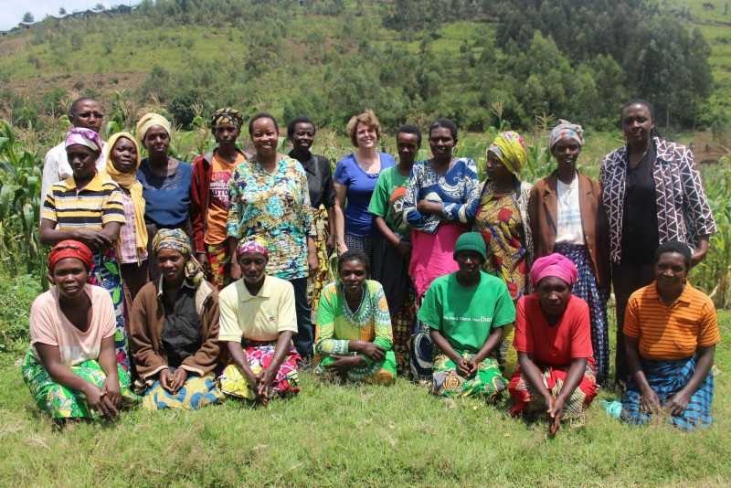 Jennifer L. Windsor met with WfWI-Rwanda participants and staff when she visited Kigali in 2015.