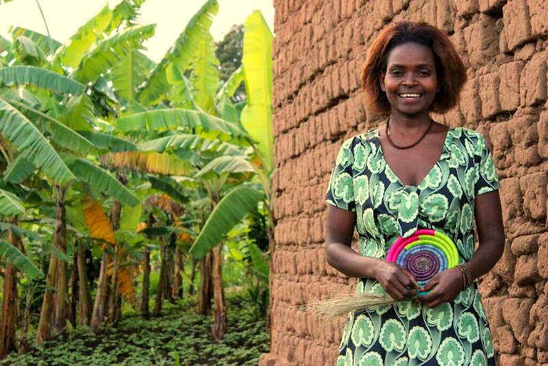Chantal is grateful she can support her family