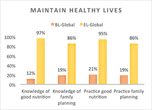 Global Health Chart - Lessons for the Field and Programs Making a Difference