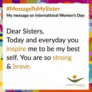 #MessageToMySister Spark Post