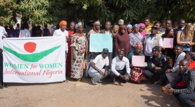 A cross section of WfWI staff