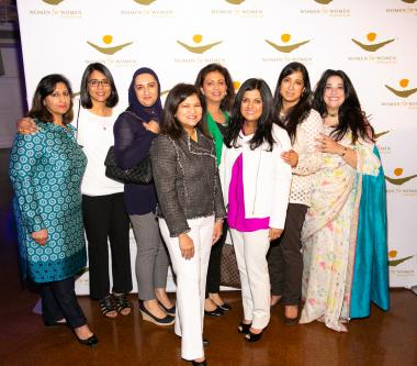 luncheon - farida and guests