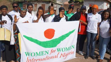 WfWI saying NO to Domestic Violence