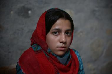 Farimah, young Afghan woman