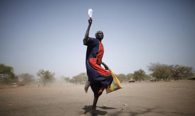 South Sudan Courage Woman
