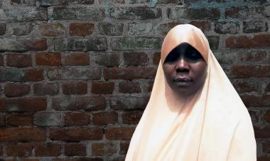 Amina, woman from Nigeria
