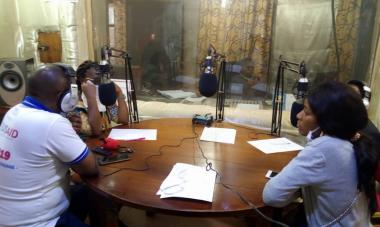Our team in the DRC joins local radio broadcasts about COVID-19