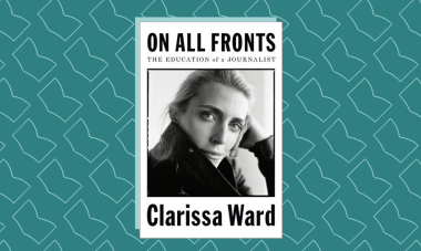 Book cover for On All Fronts by Clarissa Ward
