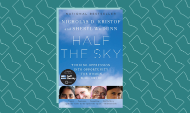 Book cover for Half the Sky