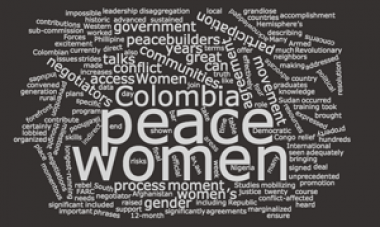 columbia peace women graphic