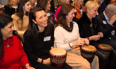US - women drumming