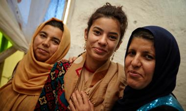 Participant from Iraq program. Photo Credit: Aidan O'Neill