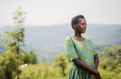 Marie Claire, Program Participant from Rwanda
