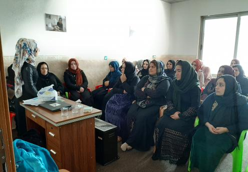 Women Attending Classes in Iraq